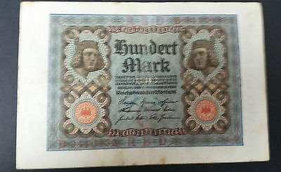 World Banknotes - Germany 1920 One Hundred Mark Pick # 69a Very Fine