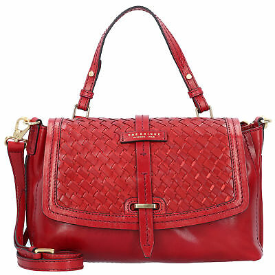 The Bridge Salinger Handtasche Henkeltasche Damen Leder 30 cm (red)