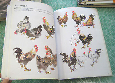 Collection  Chinese Painting Book-How To Paint Xieyi Chicken&Hen&Cock&Rooster