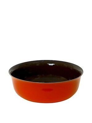 Middle Kingdom Chinese Porcelain Serving Bowl Coral Red / Spice Green - Bo Jia