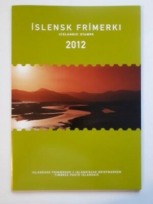 2012 Iceland Official Year Pack - Islanda Anno Completo Emissione Ufficiale