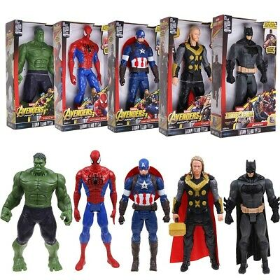 "12"" Marvel Avengers Infinity War 3 Titan Hero Thanos Thor Hulk Figure Toy Gifts"