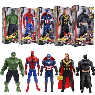 "12"" Marvel Avengers Infinity War 3 Titan Hero Thanos Thor Hulk Figure Toy Gift"