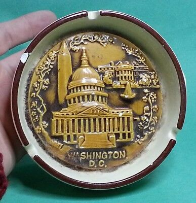 Washington DC Ashtray Round Has a chip see pictures