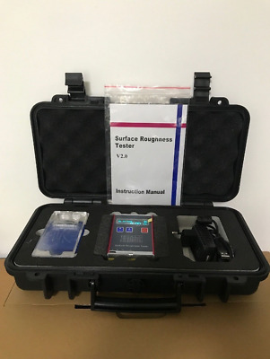 New YRT100 Digital Surface Roughness Tester Meter Measurement Range Ra Rz M