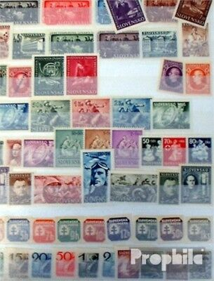 Slovakia 75 different stamps  until 1945