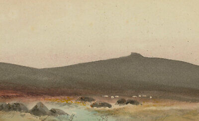 William Henry Dyer (fl.1890-1930) - Early 20th Century Watercolour, Fur Tor
