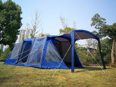 Outdoor Waterproof Extra Large Camping Tent with Inflatable pole for 8~10 Person