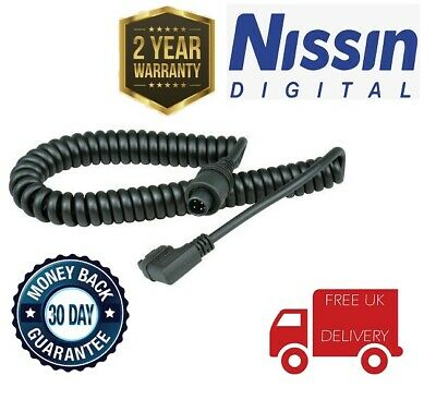 Nissin PS8 Power Cord For Canon Flash Unit, London