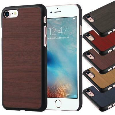 Hard Case for Apple Protection Cover Vintage Wooden Bumper TPU