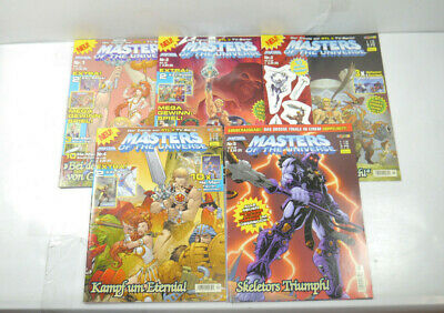 MASTERS OF THE UNIVERSE Comic zur TV-Serie Heft 1 2 3 4 5 PANINI + Beilagen WR2