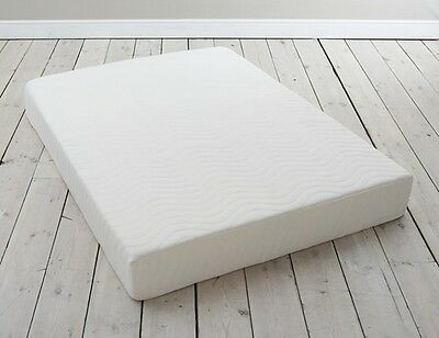 Luxury Memory Foam Mattress With Removable Washable Cover 12.5 cm Or 15 cm Deep