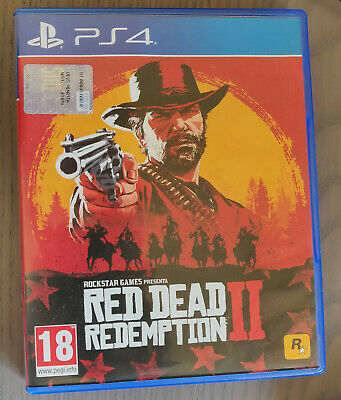RED DEAD REDEMPTION 2 ITALIANO - PS4 - PlayStation 4 - ITA