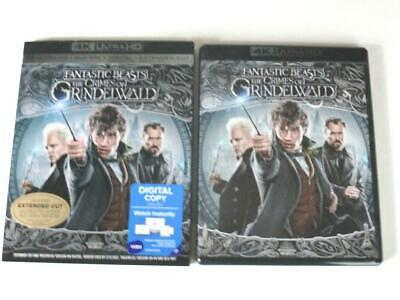 Fantastic Beasts The Crimes Of Grindelwald (Blu-ray 4K, 2019) 1-Disc Never View