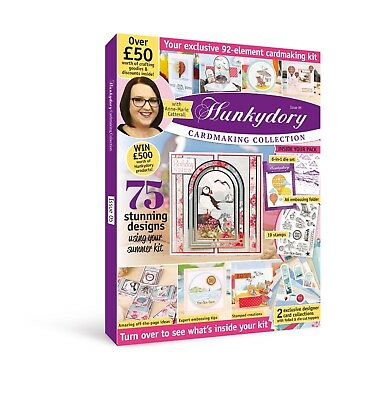 Hunkydory Box Magazine - Issue 5 - Cardmaking Collection Over £50 of Goodies!