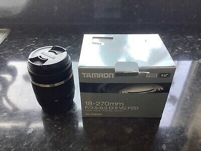 Tamron SP B008 18-270mm F/3.5-6.3 II PZD Aspherical IF VC Di Lens For Canon