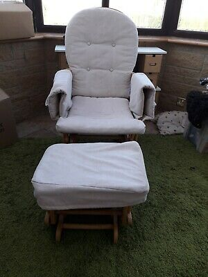 Reclining glider nursing chair