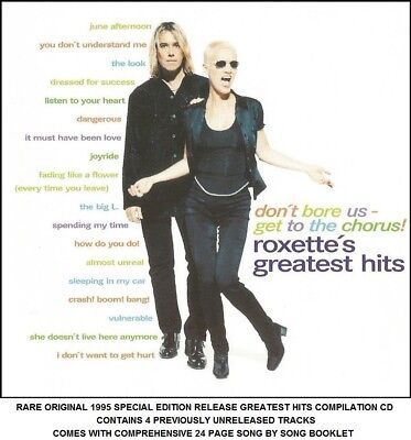 ROXETTE - VERY Best Greatest Ultimate Hits Collection - 80's