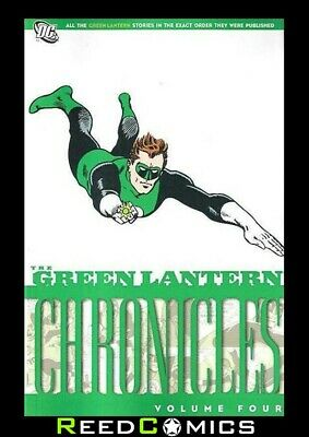 GREEN LANTERN CHRONICLES VOLUME 4 GRAPHIC NOVEL (160 Pages) New Paperback