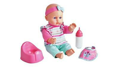 Chad Valley Babies to Love Drink and Wet Doll With Drink And Wet Function _UK