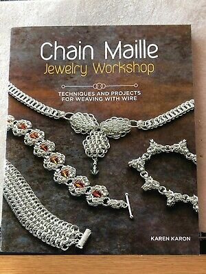 Chain Maille Jewellery Workshop, Karen Karon, Weaving with Wire