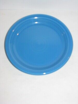 Fiestaware, Appetizer Plate, Fiesta, Peacock blue, NEW WITH TAGS, First Quality