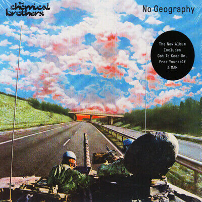 Chemical Brothers - No Geography (CD - 2019 - EU - Original)
