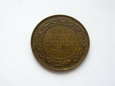 1915 Canada Large One Cent - NICE GRADE