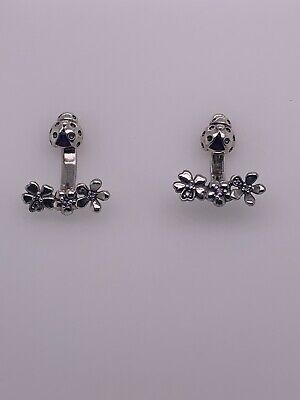 ed0e4ca305901 NEW AUTHENTIC PANDORA 925 Sterling Silver Drop Earrings Ladybug ...