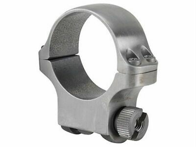 """Stainless Steel, .937/"""" Height Medium 90282 Ruger 1/"""" Scope Ring Assembly 4k"""