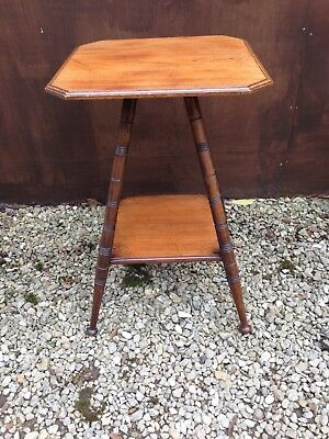 Stylish Edwardian Arts and Crafts Mahogany Side/Occasional Table