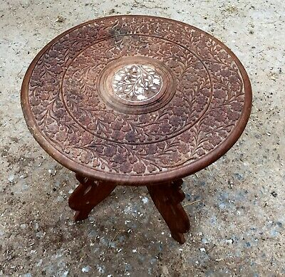 Occasional Table -Indian Carved
