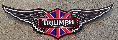 Triumph Motorcycles 12 Inch Wing Patch