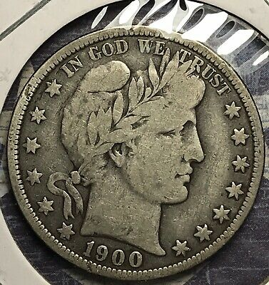 1900-O Barber Silver Half Dollar Collector Coin For Your Set Or Collection .