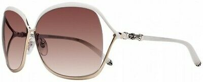 8e1bab1164 Authentic Chrome Hearts Women s Sunglasses White Gold with Silver   684496236633