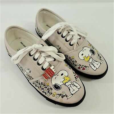 2eb1230b18 The Bradford Exchange- Wearable Art Of Work- Snoopy Peanuts Shoes- Size 8