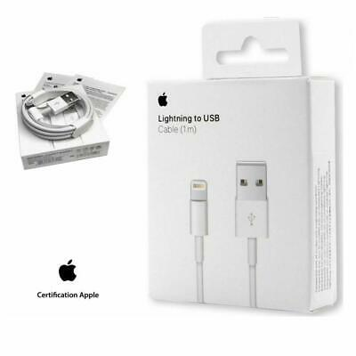 Cable USB chargeur Original Apple Lightning pour iPhone 6s/6/5/5s/5c/SE/7/7 Plus