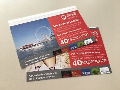 2 X London eye tickets