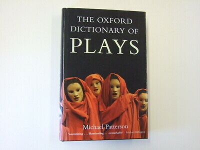Oxford Dictionary Plays Patterson Michael 2005 OUP