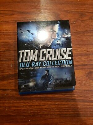 Tom Cruise Collection (Blu-ray Disc, 2011, 5-Disc Set)