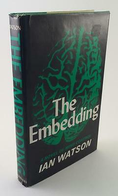 1973 The Embedding Ian Watson First Us Edition Author First Novel