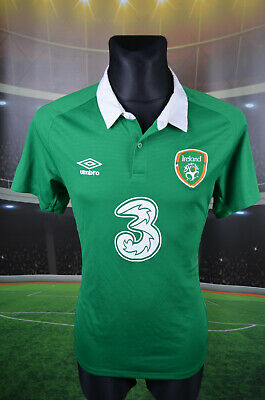 Ireland Eire Umbro Home Football Shirt (L) Jersey Top Trikot Camiseta Maglia