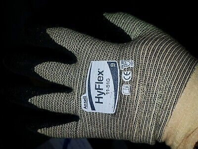 HyFlex 11-510 Cut Protection Coated Gloves 12 Pairs Size 9