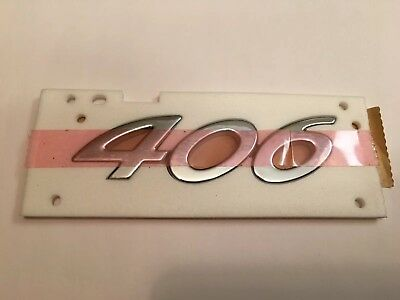 Badge Number boot Rear Tailgate Emblem Logo Genuine 8665VG 96758508VD