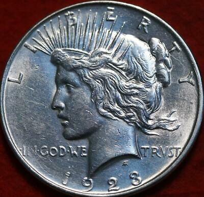 Uncirculated 1923-D Denver Mint Silver Peace Dollar