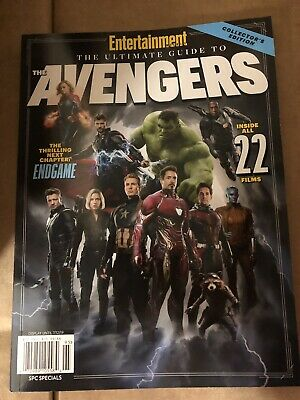 Ultimate Guide To Avengers ENTERTAINMENT WEEKLY Magazine NEW!!!