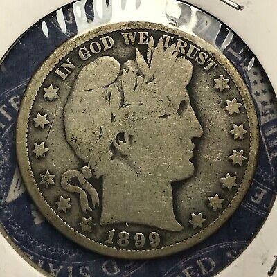 1899-O Barber Silver Half Dollar Collector Coin For Your Set Or Collection .