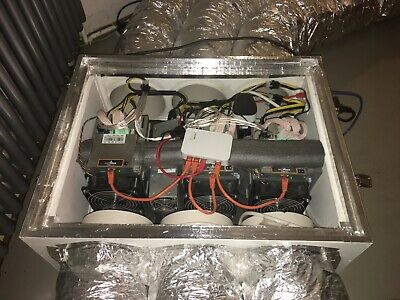 ASIC MINER SOUNDPROOF box: Cooling, Insulation, Housing, Case, Antminer,  Bitmain
