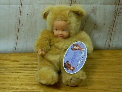 Baby Bear Bean Filled Doll Anne Geddes No Box! New With Tags Punctual Vintage