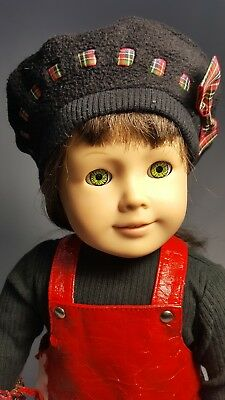 Pleasant Company American Girl Doll Molly Red Vinyl Meet Outfit 1985 Retired